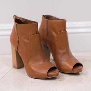 Zara Peep Toe Booties